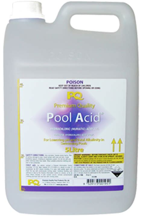 Pq Pool Acid  Bangkok Pools  Swimming Pool Maintenance