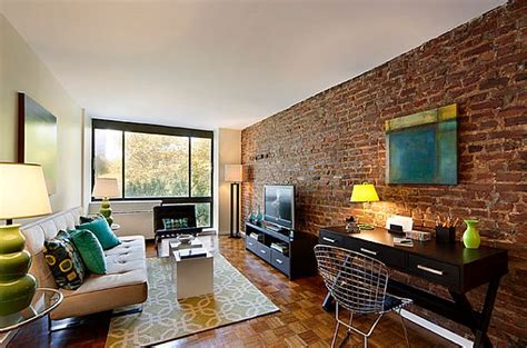 adding  exposed brick wall   home