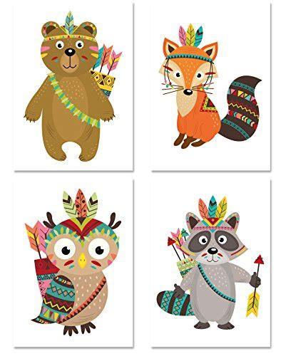 Kinderzimmer Junge Indianer by Kinder Poster Set Indianer 4 Motive Din A4 Hochformat