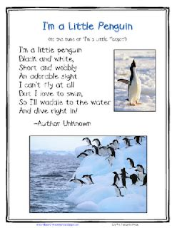 lil country librarian a printables challenge from 241 | I%2527m a Little Penguin