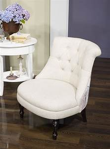 Fauteuil Crapaud Beige : fauteuil crapaud en tissu lin capitonn beige avec motif floral meuble en ch ne ~ Teatrodelosmanantiales.com Idées de Décoration
