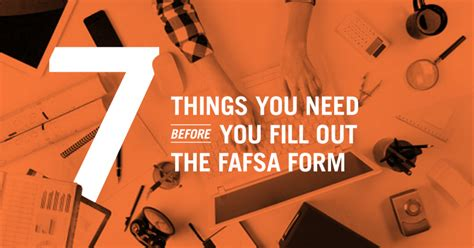 7 Things You Need Before You Fill Out The 2018–19 Fafsa