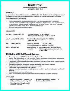 cnc programmer resume international experience resume With machinist resume builder