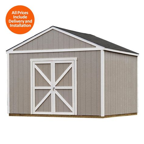 Home Depot Storage Sheds Installed by Rubbermaid Big Max 7 Ft X 7 Ft Storage Shed 1887154