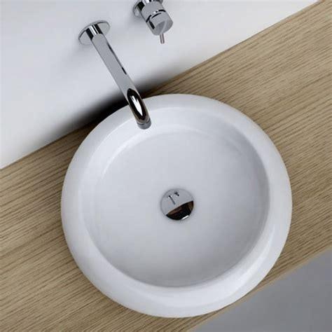 salle de bain ronde vasque 224 poser ronde 46 cm c 233 ramique
