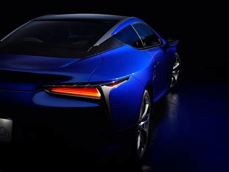 3840x2400 Lexus Lc 500h Structural Blue 2018 Rear 4k Hd 4k