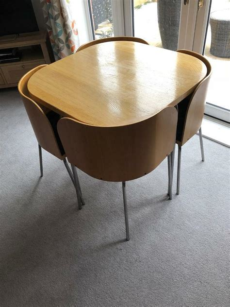 space saving kitchen table ikea ikea space saving table 4 chairs in wallingford