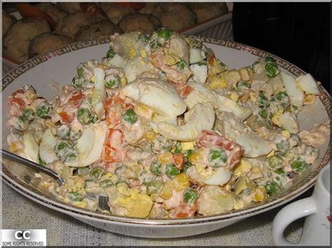 spécialité russe cuisine salade russe olivier recette du plat phare du nouvel an