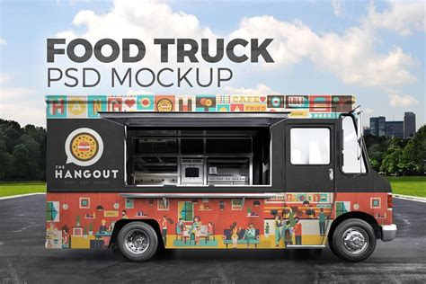 There are different mockups available on the list, so the need for sustainable food packaging increases as environmental awareness increases. Food Truck Mockup (With images)   Food truck design, Truck ...