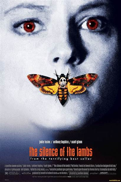 Silence Lambs Poster Peliculas Gifs Movie Posters