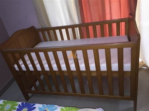 Mothercare Addington Crib/baby Cot With Mattress Free