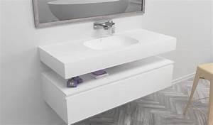 Vasque En Corian : vasque en corian serenity ~ Premium-room.com Idées de Décoration