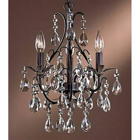 small chandelier crystal  light antique copper ceiling