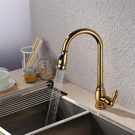 Kitchen Faucet Polished Gold
