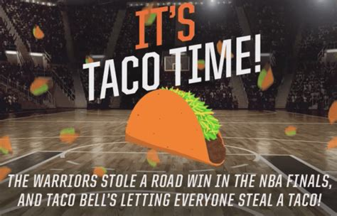 taco bell offering  taco tuesday june