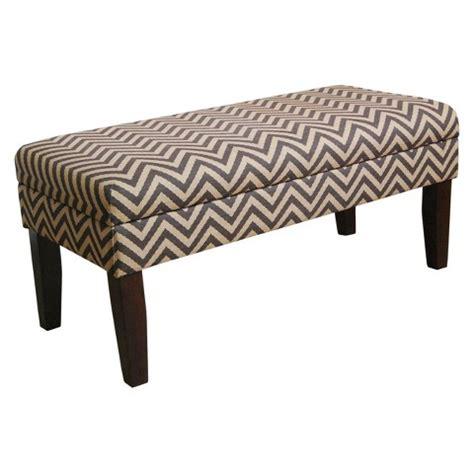 Decorative Storage Bench by Decorative Storage Bench Chocolate Chevron Target