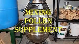 Mixing Pollen Supplement