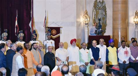 Modi New Cabinet Ministers narendra modi cabinet reshuffle list the indian