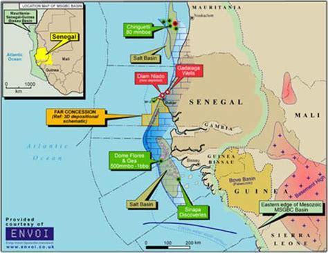 ebola  senegalu ciekawa mapa pokladow ropy  gazu