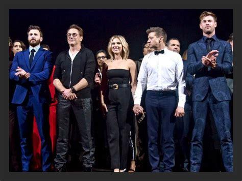 Robert Downey Jr. to Chris Hemsworth, Avengers: Endgame ...