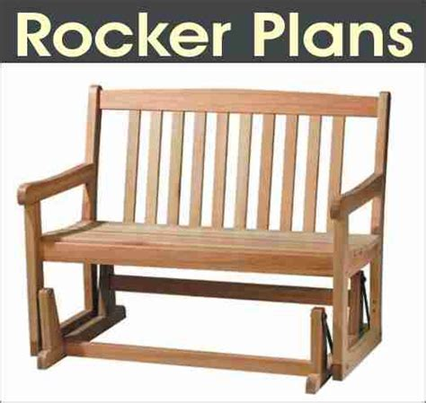 plans to build glider rocker plans free pdf plans