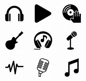 33 music note icon packs - Vector icon packs - SVG, PSD ...