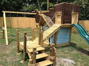 Kinderspielplatz Selber Bauen : kinderspielplatz selber bauen piratenschiff mit schaukel rutsche und kinderhaus freshdads ~ Buech-reservation.com Haus und Dekorationen