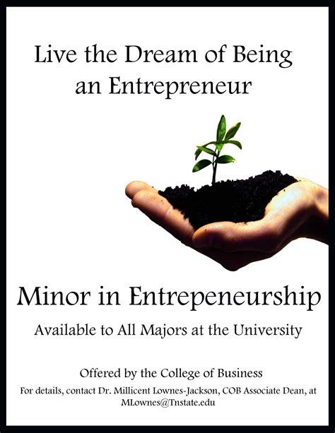 minor  entrepreneurial business