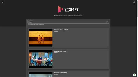 Yt2mp3.moe Alternatives And Similar Websites And Apps