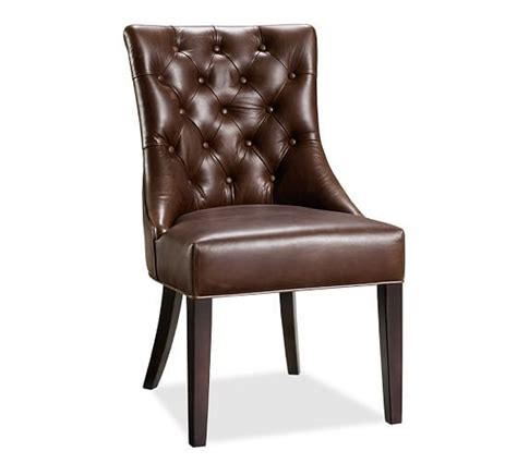 tufted chair pottery barn interior inspirations
