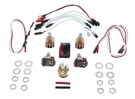 emg 1 or 2 wiring kit thomann uk