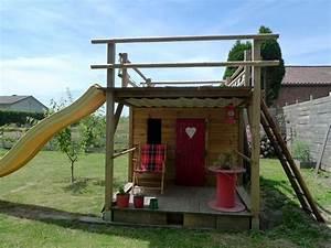 Cabane En Bois De Jardin : mercredi chez laurette la cabane ~ Dailycaller-alerts.com Idées de Décoration