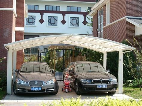 Auto Shelter Metal by Aluminum Alloy Protective Car Shelter Metal Car Canopy