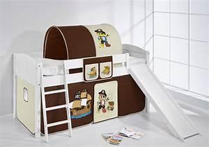 Kinderbett Mit Rutsche : spielbett hochbett kinderbett kinder bett mit rutsche umbaubar einzelbett 4106 ebay ~ Orissabook.com Haus und Dekorationen
