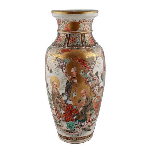 japanese vases japanese satsuma vase antique satsuma vase japanese satsuma pottery vase