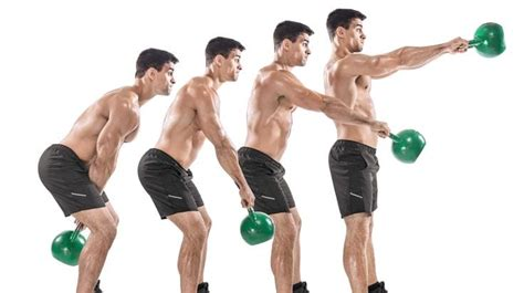 kettlebell training exercises workout workouts swing weight kettlebells swings strength body week lose single physique muscle fitness routines grip kb