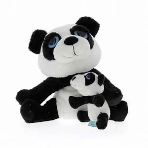 Grosse Peluche Panda : peluche panda avec b b keel toys mynoors ~ Teatrodelosmanantiales.com Idées de Décoration