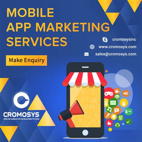 Marketing Company by Cromosys S Complete Guide To Mobile App Marketing