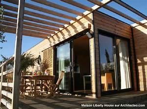 Maison Modulaire Bois : liberty house construction d une maison modulaire ~ Melissatoandfro.com Idées de Décoration