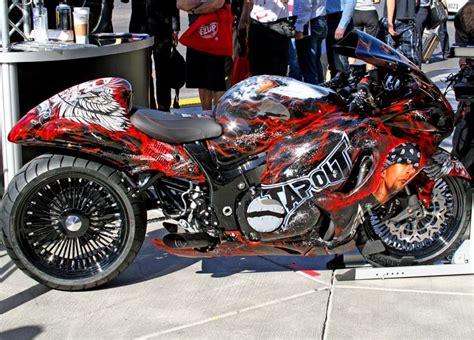 Suzuki Motorcycles Aftermarket Parts by 2009 Suzuki Hayabusa Tribute Bike Debut In Dub Booth At