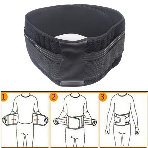 Rückenbandage Rücken Geradehalter Lendenwirbelstütze Bauch