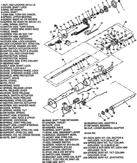 Gm Steering Column Diagram by Chevy S10 Key Will Not Turn The Engine When I