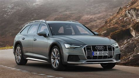2020 audi a6 allroad debuts with more ground clearance tdi power