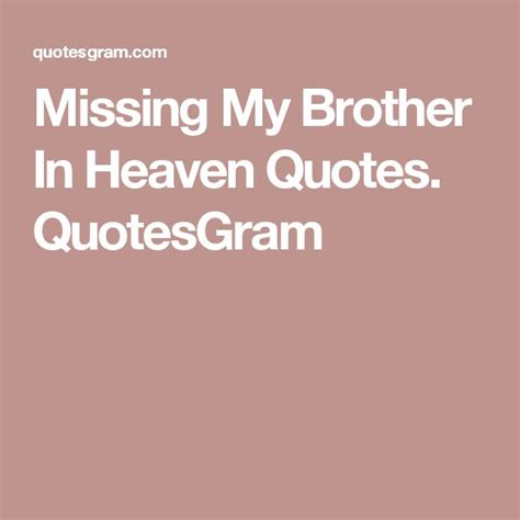 Missing My Elder Brother Quotes
