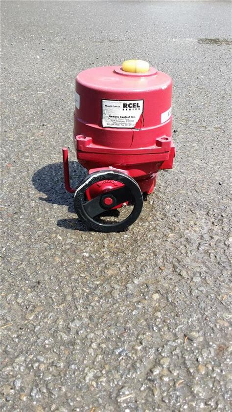 rcel 015 valve actuator l 300730 for sale used
