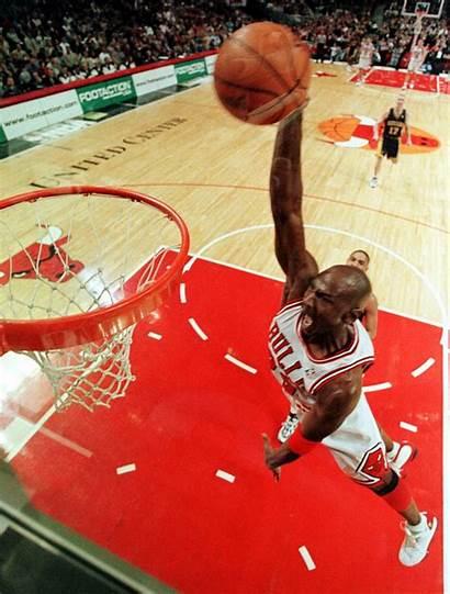 Jordan Michael Dunk Bulls Chicago Basketball Mj