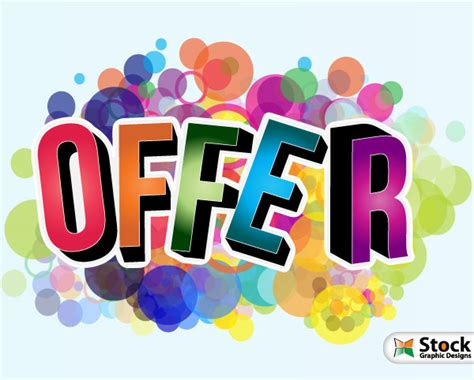 Offer Vector Poster By Stockgraphicdesigns On Deviantart