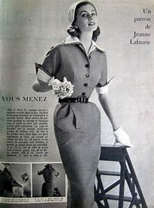 Mode Femme Année 50 : femme des ann es 1950 tailleur style vintage 50s 39 pinterest femmes des ann es 1950 ~ Farleysfitness.com Idées de Décoration