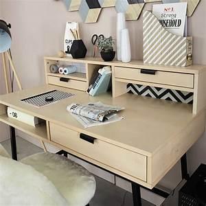 Maison Du Monde Bureau Fille : bureau 3 tiroirs graphik maisons du monde ~ Melissatoandfro.com Idées de Décoration