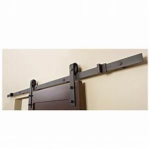 Rail Suspension Porte Coulissante : barn sliding door rail rona 199 basement pinterest ~ Premium-room.com Idées de Décoration